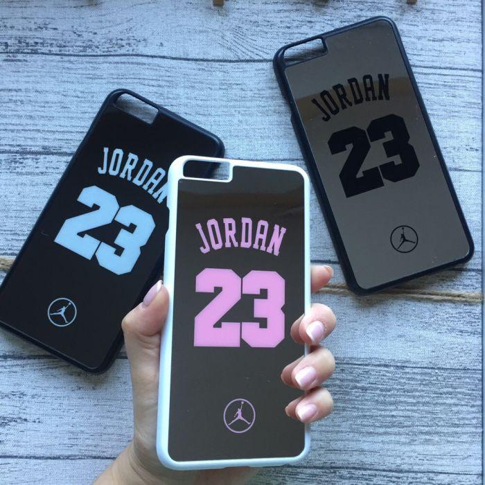 Зеркальный чехол Jordan для iPhone 6/6s