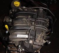 Двигатель, мотор, двигун D4F 730 55кВт Renault Kangoo 1.2 16VРеноКенго1997-2007