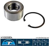 Подшипник передней ступицы Hyundai Accent, Coupe, Lantra / Kia Rio (2005-) - H10505BTA / VKBA 3907 / 517200200