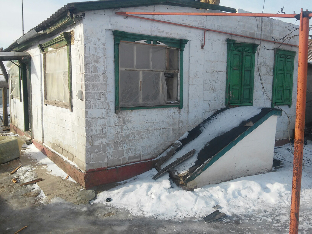 Разборка (демонтаж) частного дома с пристройкой.