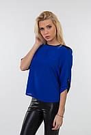 Стильная женская блуза электрик