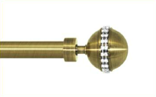 Декоративный наконечник Авея для кованого карниза 16 мм.