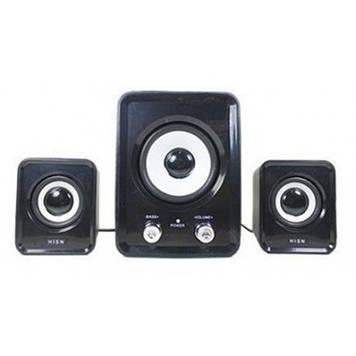 Мультимедийная акустика 2.1  HS-999