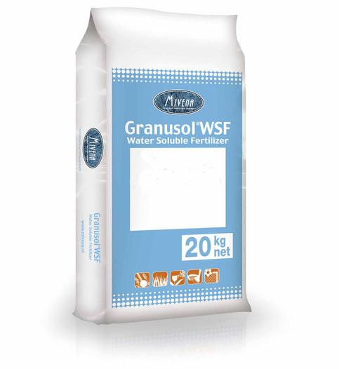 Комплексное водорастворимое удобрение Mivena Granusol WSF  10-10-30-6MgO-TE