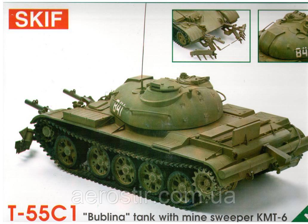 Танк Т-55С1 1/35 SKIF 224