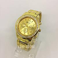 Женские часы наручные золотые Geneva