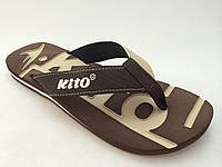 Мужские вьетнамки KITO коричневые
