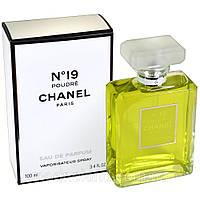 Женская парфюмированная вода Chanel №19 Poudre 100 ml (Шанель №19 Пудр)