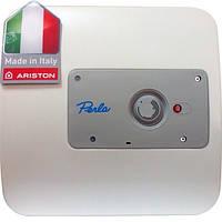 Бойлер настенный Ariston Perla 10 OR Круглый Мокрый тэн 1200 W, вертикльный, выносной терморегулятор