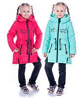 Детское демисезонное пальто на девочку весна осень