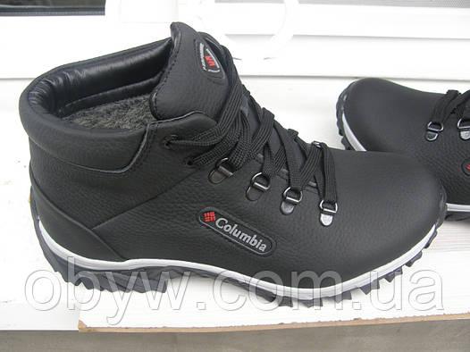Ботинки  кожаные зимние Cаlаmbia к99