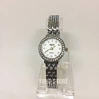 Часы браслет женские серебро