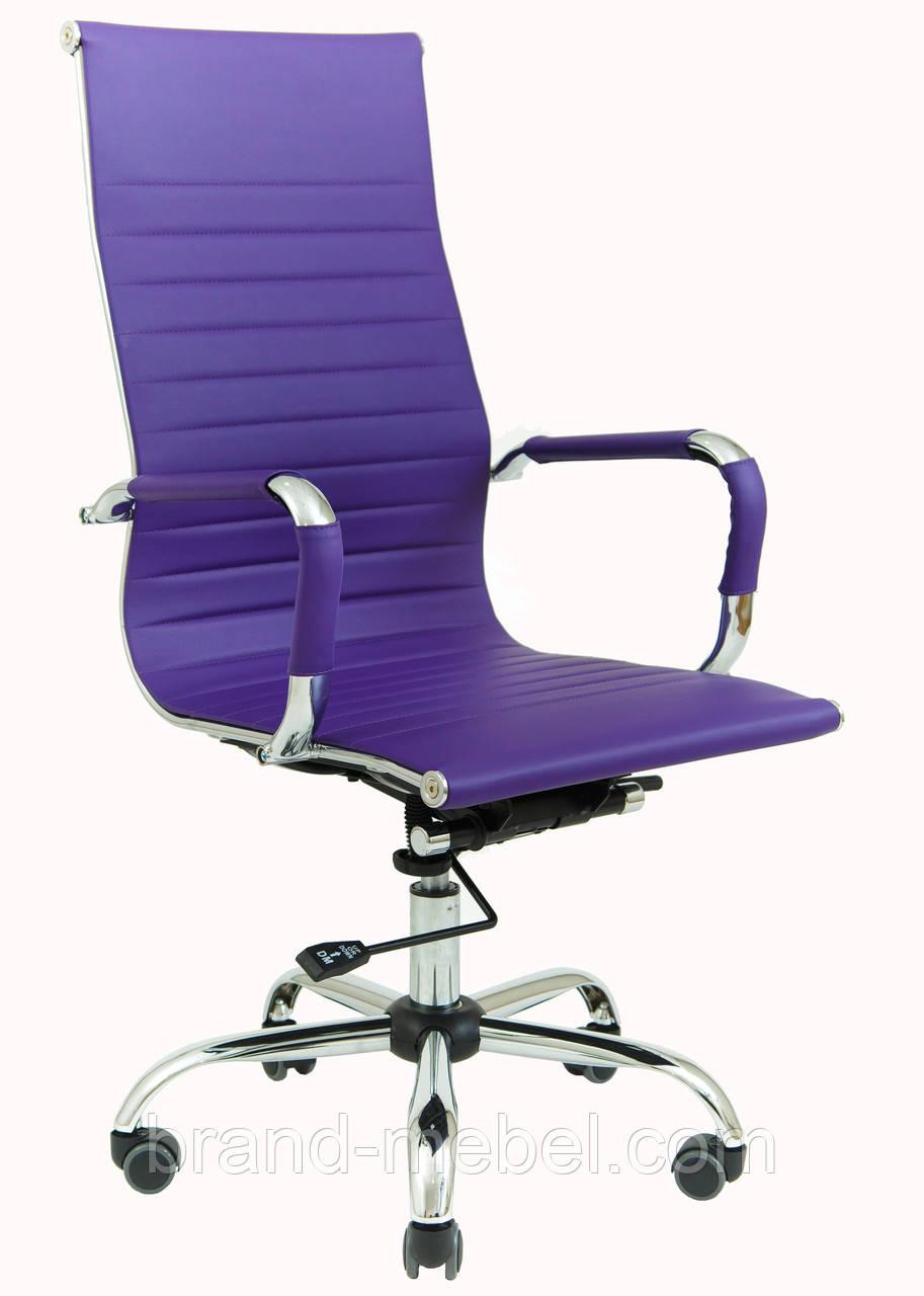 Кресло Бали Хром Purple Richman