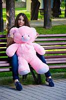 Мягкая игрушка Плюшевый Мишка Томи Розовый 100 см