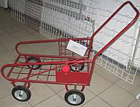 Тележка грузовая металлическая для склада, фото 1
