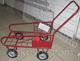 Тележка грузовая металлическая для склада