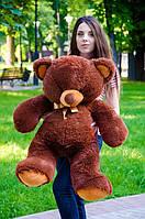 Мягкая игрушка Плюшевый Мишка Томи коричневый 100 см