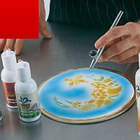 Пищевые чернила для пищевого принтера и аэрографа(код 02035)золото