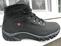 Кожанные  ботинки Columbia к9