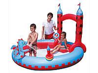 Детская площадка, бассейн с фонтаном  Bestway