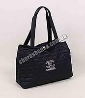 Женская сумочка стеганая Chanel QB01 Черный