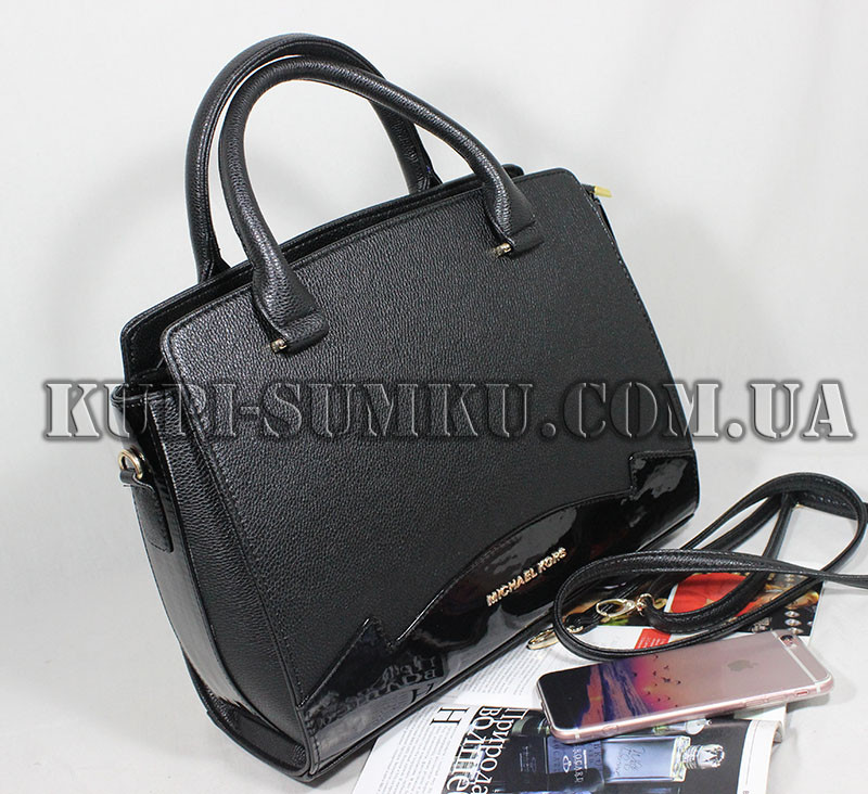 b2242605fc0d Женская модная каркасная черная сумка лака и кожзама - Интернет-магазин