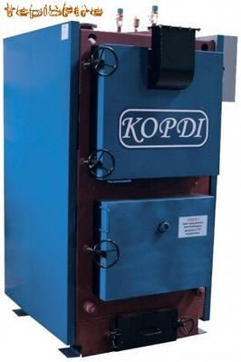 Котел твердотопливный KORDI КОТВ 250 (6 мм)