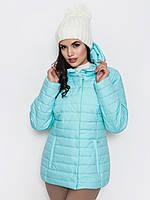 Женская демисезонная куртка с капюшоном 80229