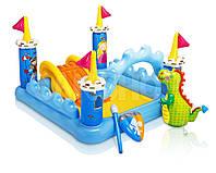Детская площадка Замок Fantasy INTEX
