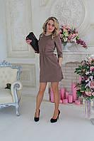 Платье свободное с поясом