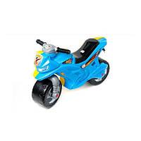 Мотоцикл Орион жёлто-голубой