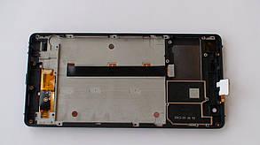Дисплей с сенсором Nomi i506 Shine чёрный, фото 2