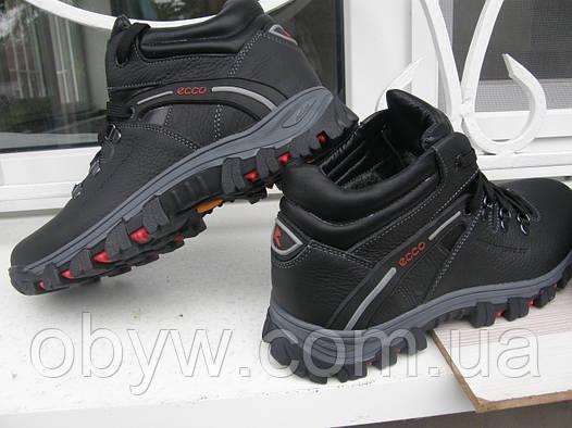 Зимняя кожанная обувь Ecco