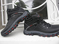 Ботинки Ecco зимние кожанные