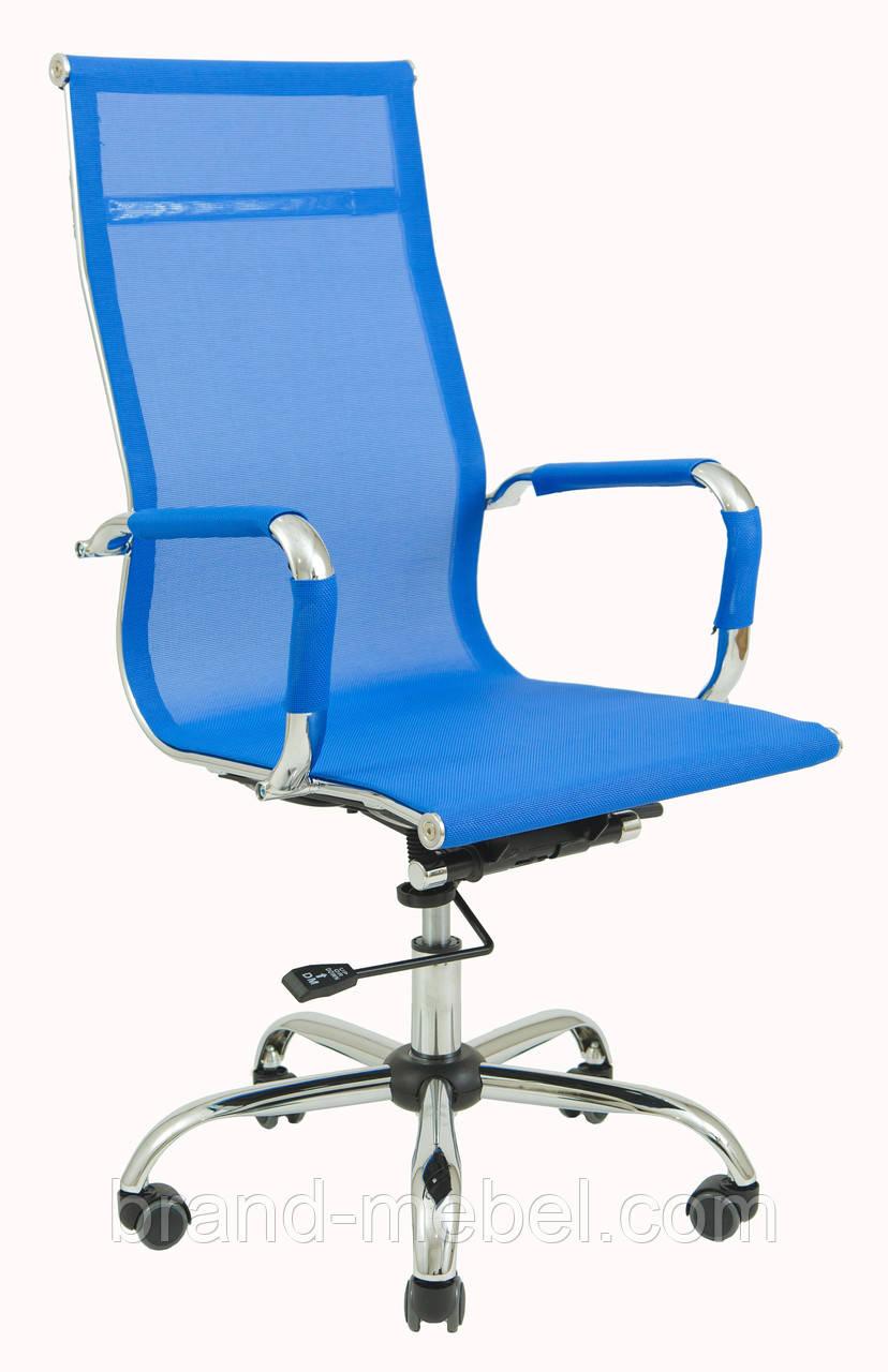 Кресло Кельн Хром Blue Richman