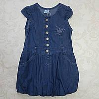 Джинсовое платье для девочки 98/104/110/116