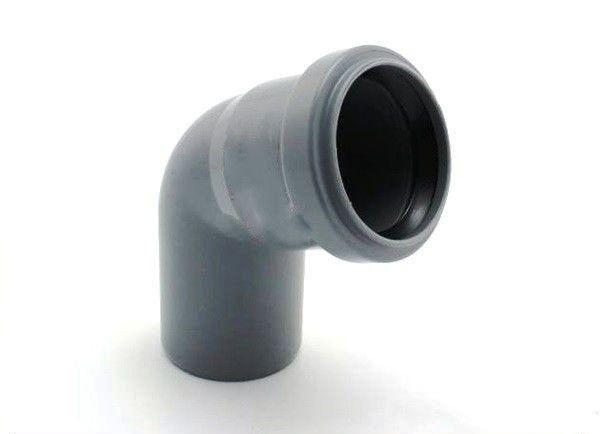 Колено для внутренней канализации, д 50х90
