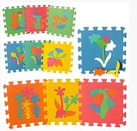 Мягкий Детский коврик Мозайка M 0386