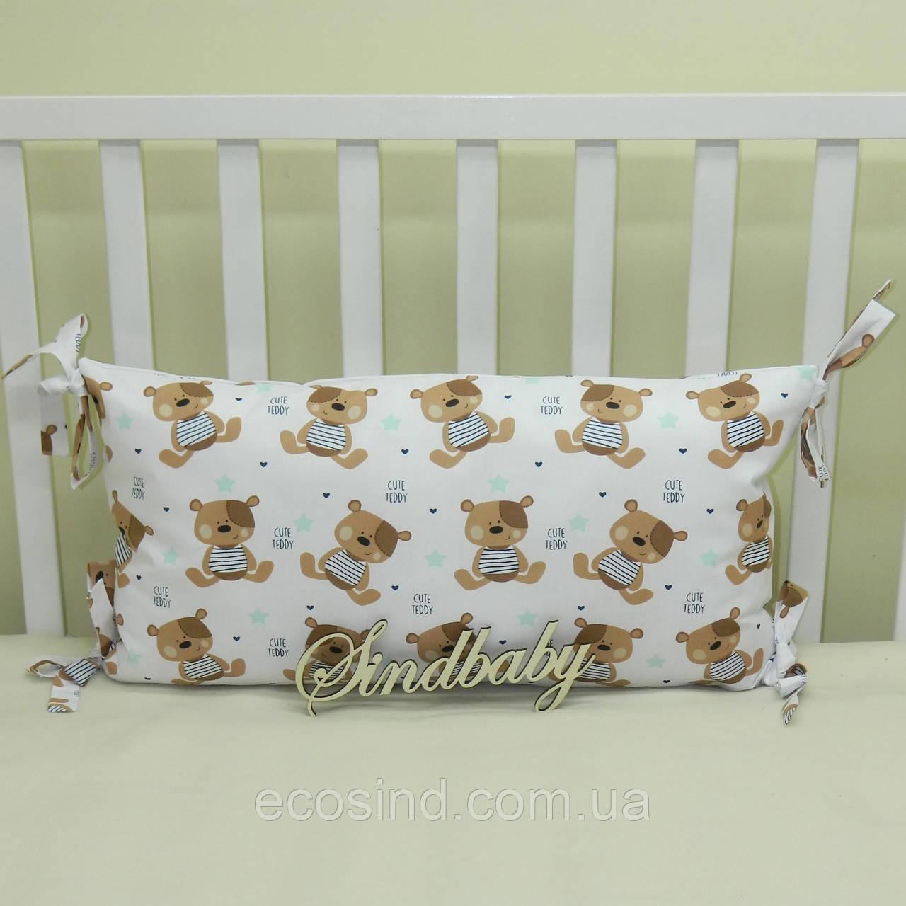 Бортики подушки в кроватку, Подушка 30х60 -16