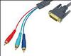 Комп.кабель DVI-3RCA, 1.5 м CV-1250