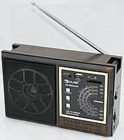 Радиоприемник Golon  RX 9922, USB слот, SD кардридер, индикатор зарядки. Портативный радиоприемник.