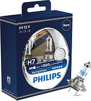 Автолампы  H7 PHILIPS +150% света 12V 55W  12972RVS2 (H7) (+150% света) Racing Vision (2шт.) PHILIPS