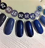 Гель-лак Nice for you № 26 (синий с микроблеском) 8.5 мл, фото 3