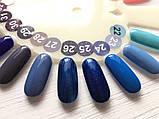 Гель-лак Nice for you № 26 (синий с микроблеском) 8.5 мл, фото 4