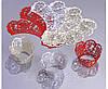 """Накладки для маффинов """"Ажурные ленты""""№302 6шт(цвет в ассорт.)  (код 02643)"""