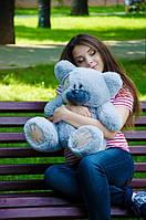 Мягкая игрушка Плюшевый Мишка Потапкин Голубой 50см