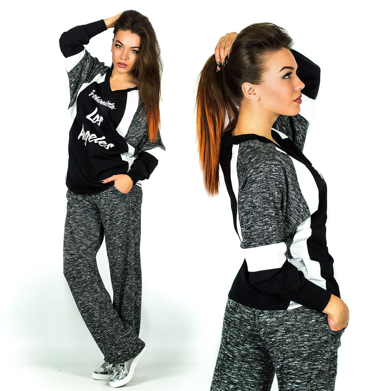 11bdf1a9e68 Стильный спортивный женский костюм