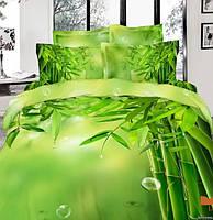 Love you евро комплект  постельного белья 3D сатин Бамбук