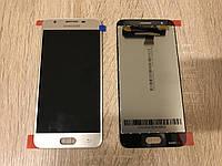 Дисплей на Samsung G570 Galaxy J5 Prime Золото(Gold), GH96-10324A,оригинал! , фото 1