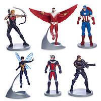 Игровой набор с фигурками Капитан Америка Марвел